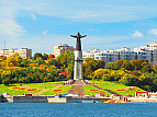 Чебоксары - Нижний Новгород - Москва
