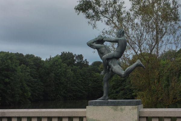 Парк скульптур Вигеланда в Осло_2