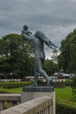 Парк скульптур Вигеланда в Осло_5