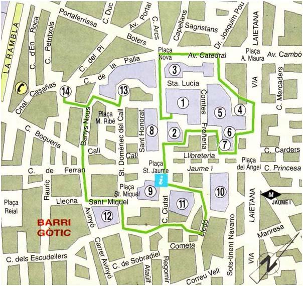 как добраться до парка гуэля от площади каталонии дороги
