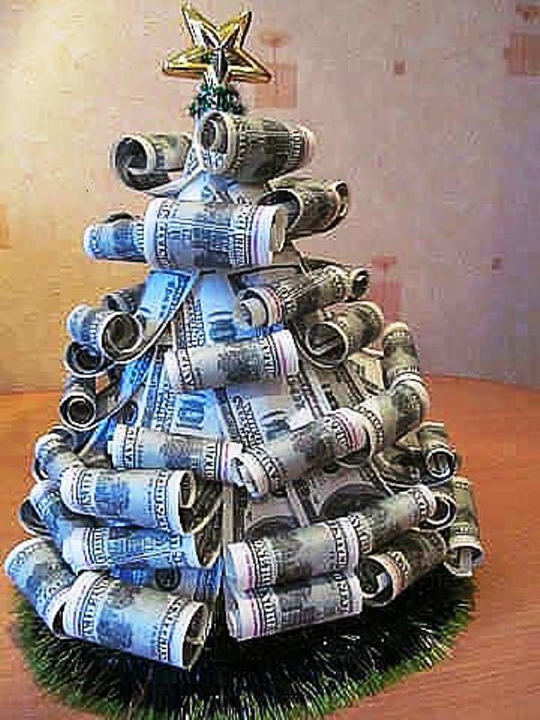 Из денег своими руками фото
