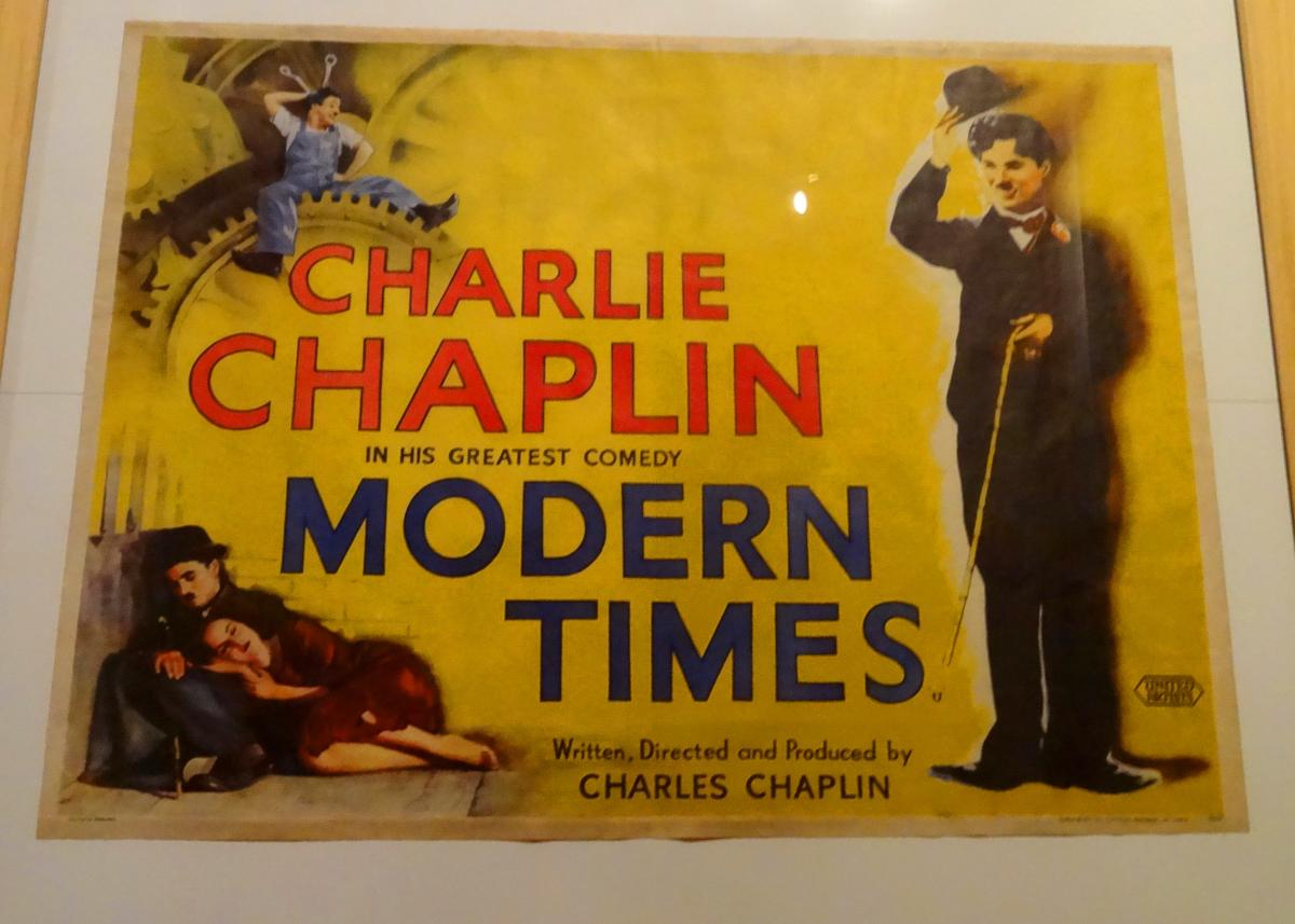 film analysis done for charlie chaplins film, modern times essay The great dictator analysis demonstrates that chaplin's film, pointed clearly and hatefully at hitler himself, could just have been amusing, he says in his life account, in the event that he had not yet known the full degree of the nazi fiendishness.